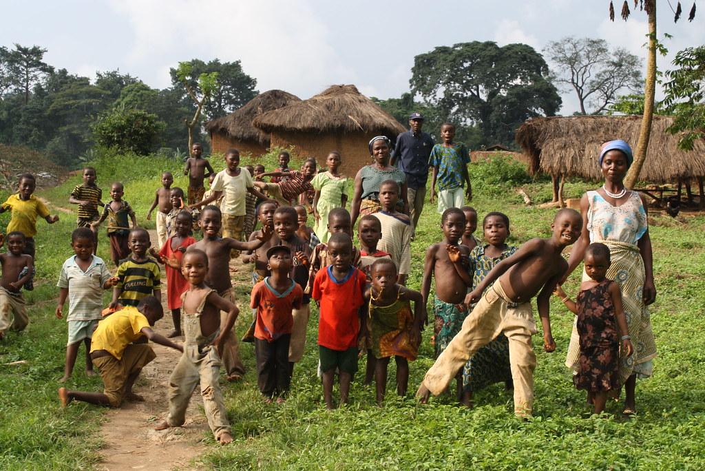 Village zone café cacao Kougnohou Togo