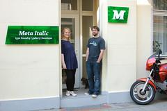 Mota Italic (frankrolf) Tags: berlin exhibition matd typemedia motaitalic tm1011 typemasters