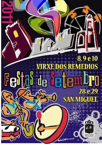 Ponteareas 2011 - Festas de San Miguel - cartel