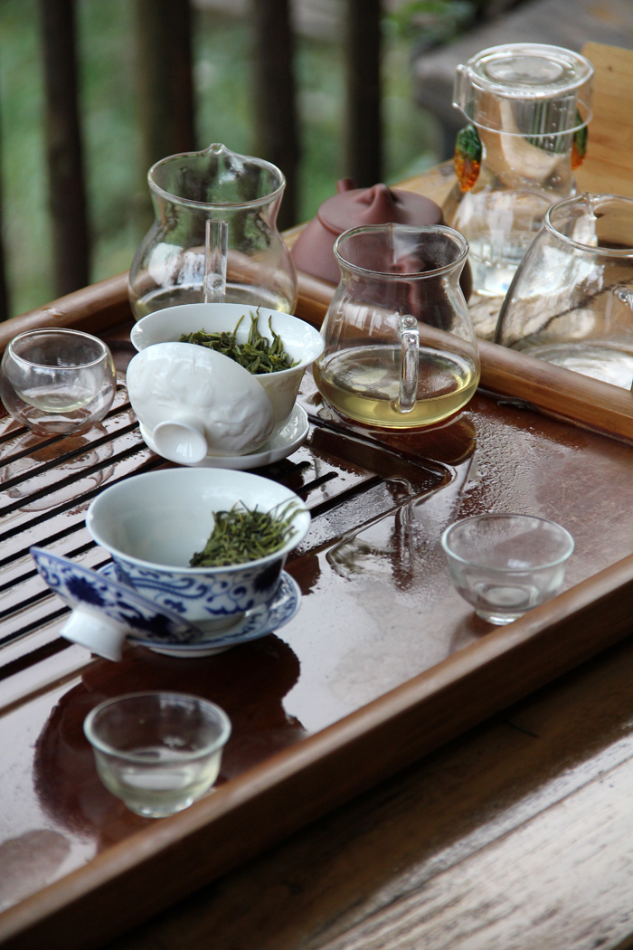 Drinking Tea in China