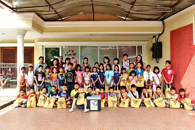 YCAB students, YCAB team, and OshKosh B'Gosh Footwear Indonesia