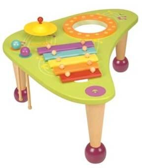 wooden table toys