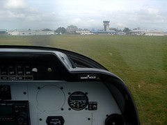 taxiing back to waikato aero club (DeeKnow) Tags: robin flying alpha 2160 wac waikatoaeroclub zkwkf alpha2160