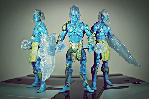 King Laufey with Frost Giants