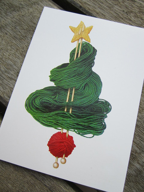 Woolly Christmas card