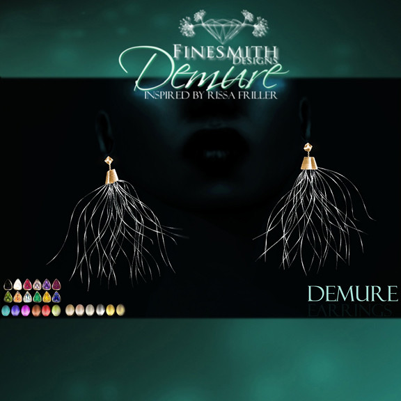 Demure Earrings