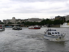 Boats on the Thames