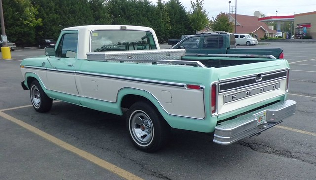 classic ford vintage ranger chrome lariat 1970s fomoco dailydriver