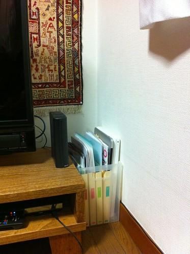 MacBookAir と MacBook の収納場所