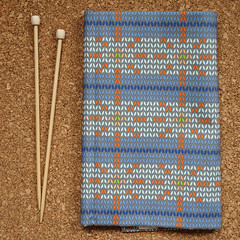 faux fair isle (Katherine Codega) Tags: knitting fat fair fabric faux quarter knitted isle spoonflower