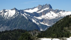 Southern Picket Range from Sourdough Mountain (Mike Dole) Tags: cascades washingtonstate northcascades northcascadesnationalpark picketrange sourdoughmountain