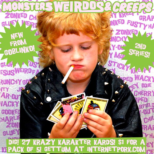 Monsters Weirdos and Creeps ad