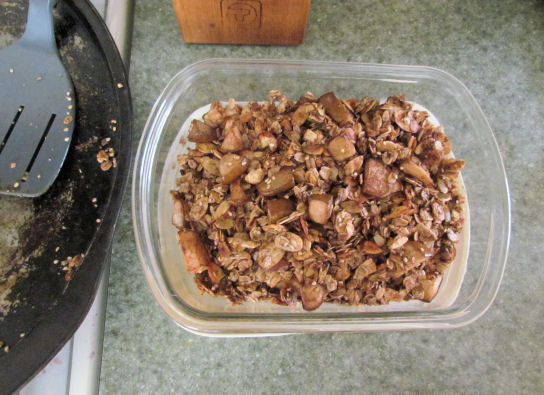 Store Homemade Cereal in the Fridge