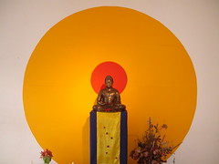 Berlin Buddhist Centre shrine 2