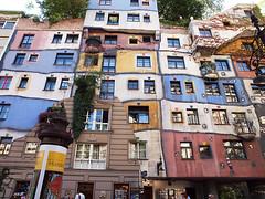 Hundertwasserhaus,Vienna (ott1004) Tags: vienna hundertwasserhaus friedensreichhundertwasser 훈트바서하우스