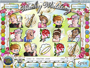 Wacky Wedding Slot Machine