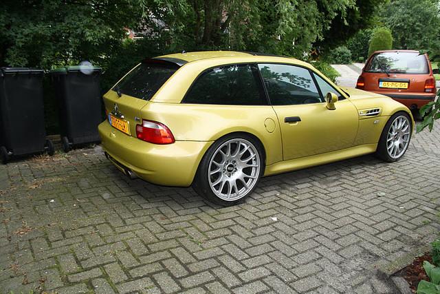 S54B32 S54 BMW Z3 M Coupe | Phoenix Yellow | Black | BBS CH Wheels