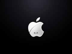 R.I.P. Steve Jobs  (Marc Benslahdine) Tags: apple rip stevejobs marcopixcom