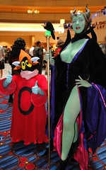 Orko and Maleficent (BelleChere) Tags: atlanta costume geek cosplay disney convention sleepingbeauty dragoncon heman maleficent orko jscottcampbell