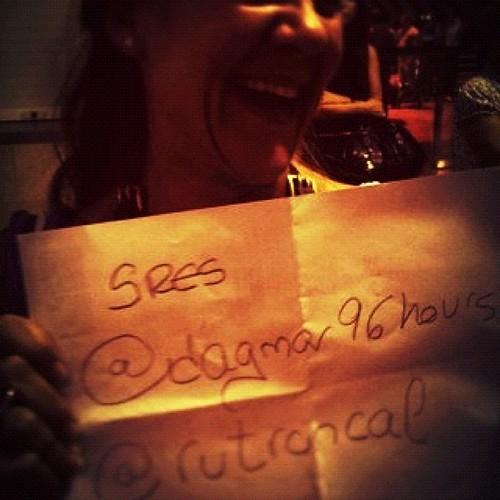 El recibimiento en #sevilla gracias @taitechu !! Cc @dagmar96hours by rutroncal
