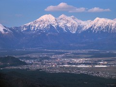 A view from Lubnik towards Kranj and Grintovec (peter++) Tags: mountain snow mountains slovenia slovenija kranj kocna grintovec lubnik kona iskratel