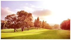 Until We Meet Again (Jeremy Lusk) Tags: california trees sunset sky nature grass golf los angeles jeremy course lusk jerinthebox