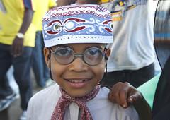 Lamu kid during Maulidi - Lamu Kenya (Eric Lafforgue) Tags: africa island glasses kenya culture unescoworldheritagesite afrika tradition lamu swahili afrique eastafrica qunia lafforgue  qunia    kea 125958   tradingroute a