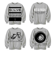 sweater designs (NOT-SO-FRESH!) Tags: white black illustration grey design sweater graphic jumper ideas sweats apparel preview logodesign deisgn