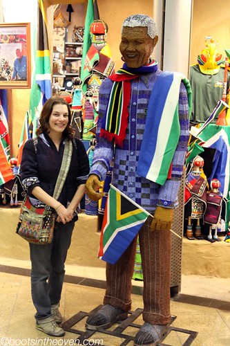 Rachel and Beaded Madiba