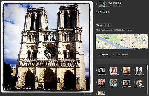 Inkstagram - Photo - Notre Dame