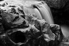 River Braan (Alistair Brown Photography) Tags: longexposure blackandwhite texture water rock rural river landscape scotland movement stream perthshire burn flowing hermitage dunkeld braan alistairbrownphotography