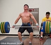Su Dajin CHN 77kg (Rob Macklem) Tags: world city korea weightlifting championships goyang olympicweightliftingkoreasudajinchn77kgtrainingolympic