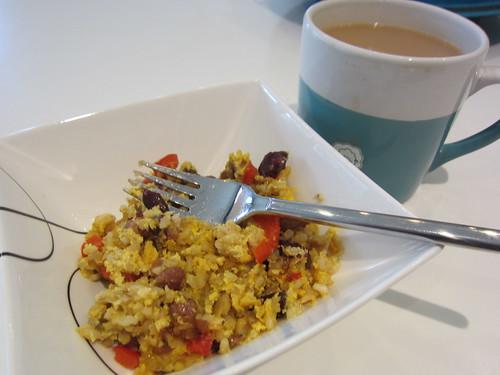 Leftovers for breakfast