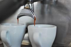 Verve Coffee: Espresso Extraction (Lameen) Tags: coffee beans almonds espresso nikkor50mmf18 arabica lamarzocco vervecoffeeroasters