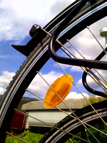 bicycle  wheels - cycling through cities by dimitra_milaiou