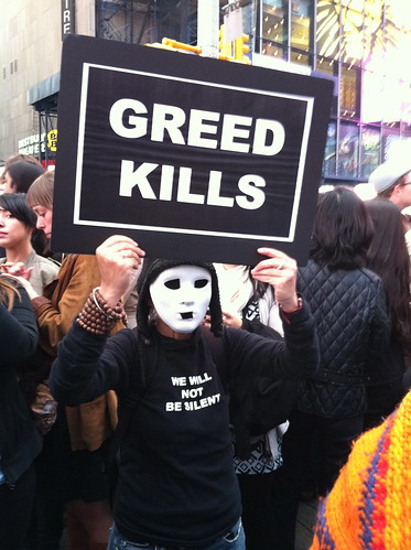 Occupy Wall Street - Times Square - New York - Oct 15, 2011