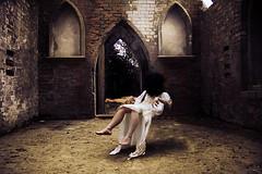 possession (londonscene) Tags: white church girl canon rebel scary october dress antique empty 18 possession haunt londonscene