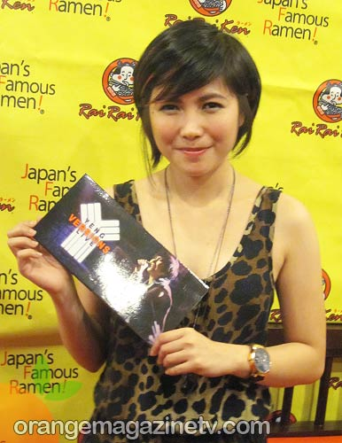 Yeng Constantino has a new album entitled Yeng Versions Live
