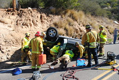 DSC_0306 (calfiresandiego) Tags: extrication battalion1 vehicleaccident
