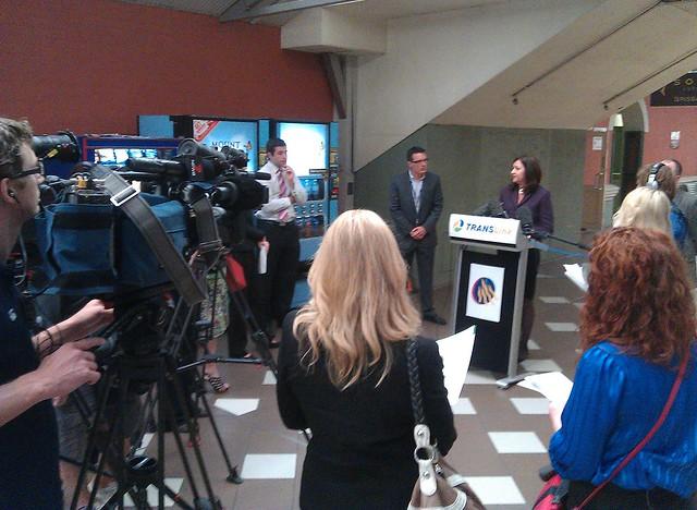 Queensland transport minister makes an announcement