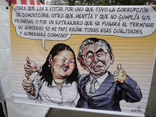 Published during the recent presidential elections in which Keiko Fujimori was a candidate
