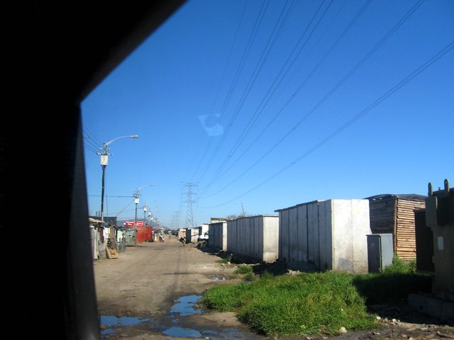 townships, cape town, south africa
