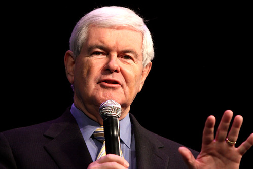 Only in the Republican Alternate Universe Could Newt Gingrich Be a Leading Presidential Contender