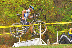 """I Can Fly"" (dlholt) Tags: autumn fall sports bike bicycle burlington cycling midwest dof bokeh competition iowa depthoffield ia bikerace bikeracing cyclocross perkinspark burlingtonia bikeiowa"