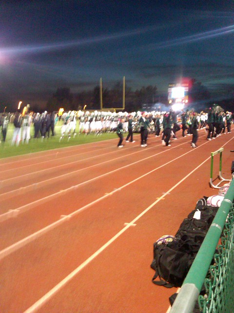 Rock Bridge sideline