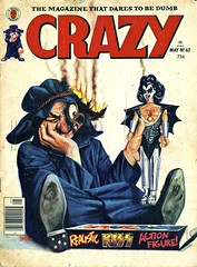 Crazy Magazine #62 - May, 1980 (Wires In The Walls) Tags: illustration toy actionfigure kiss doll genesimmons 1980 1980s marvelcomics boblarkin crazymagazine