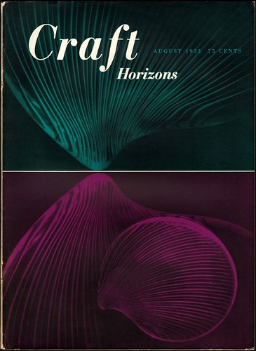 Craft Horizons July/August 1953 / Sandi Vincent