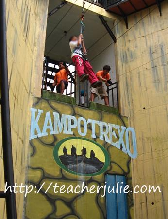 Kampo Trexo Zipline