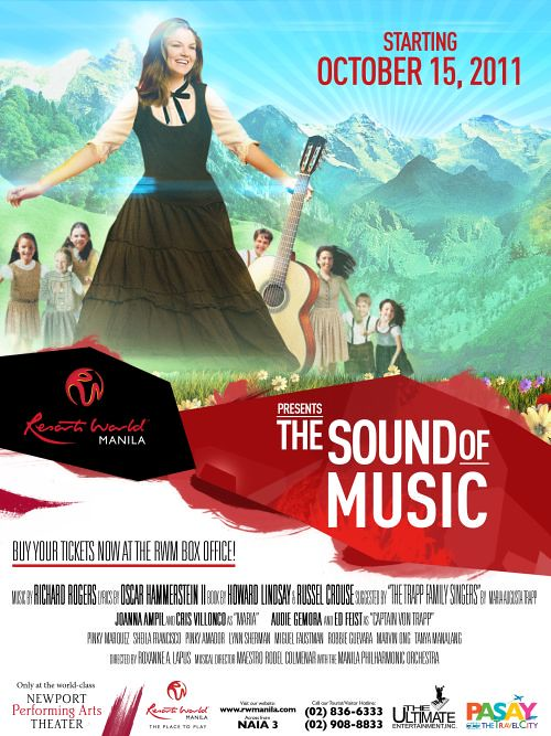 Sound of Music at Resorts World Manila