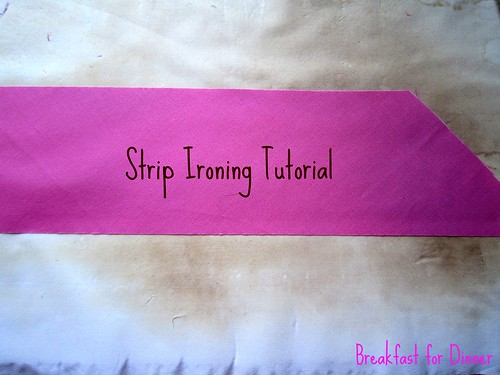 Strip Ironing Tutorial